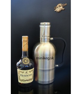 Growler 2 L single wall with handle