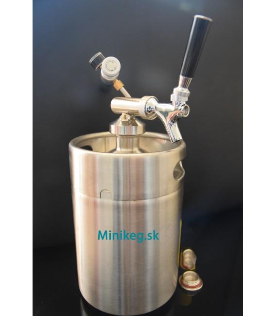 5 L minikeg + Profi 1 čapovací systém komplet