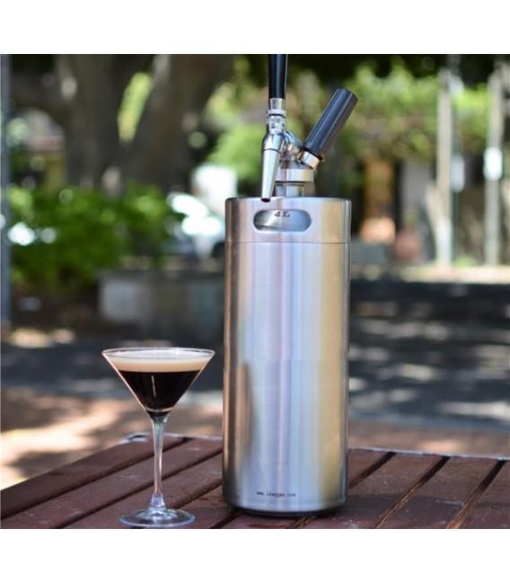 2 L minikeg + Nitro Coffee systém