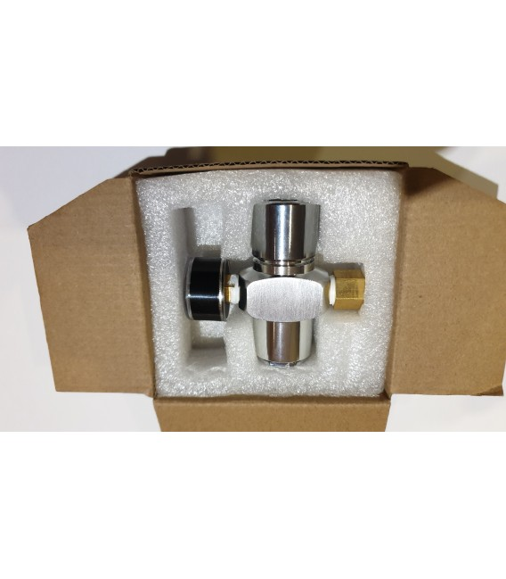 Regulátor CO2 s tlakomerom
