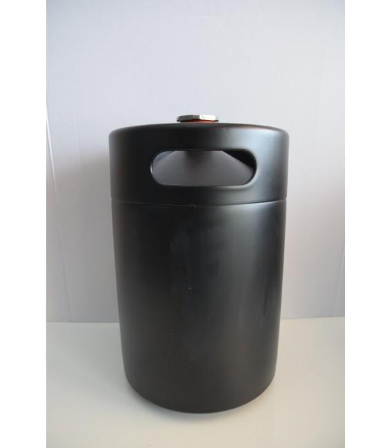 BLACK LINE Minikeg 5 L 5 L - sud z nerezovej ocele s čiernym povrchovým nástrekom