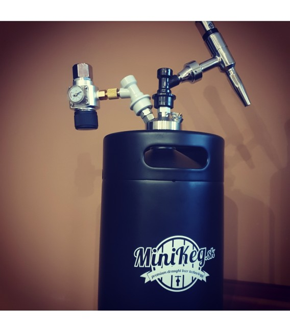 5 L BLACK LINE JOLLY STOUT KING soda stream