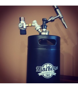 5 L mini keg BLACK LINE jolly nitro stout SS ready