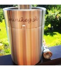 Minikeg 5 L steel with S-TYPE head