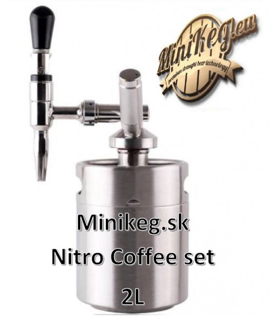 2 L MINIKEG  BLACK LINE NITRO COLD BREW STOUT system