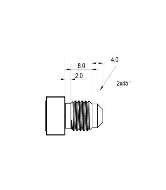 Premium Ball Lock Disconnect  (Black/Liquid) 10,5 mm out screw