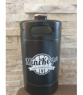 Mini keg 2 L black line