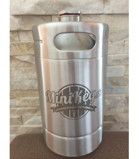 Mini keg 2 L STEEL DOUBLE WALL vacuum