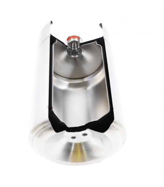 Mini keg 2 L WHITE DOUBLE WALL vacuum