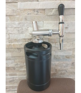 Minikeg 2L DOUBLE WALL BLACK LINE NITRO COLD BREW STOUT system