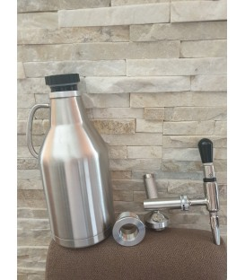 Minikeg 2L DOUBLE WALL STEEL NITRO COLD BREW  STOUT system