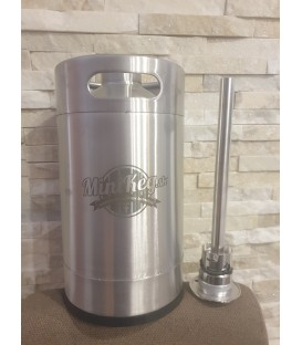 MiniKeg 5 L FLACH bottom