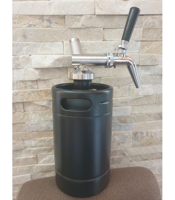Minikeg 2L DOUBLE WALL BLACK LINE NITRO COLD BREW  complet system