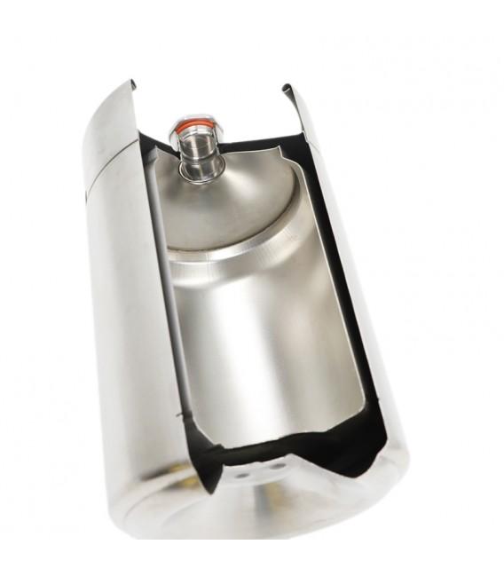 Mini keg 4 L DOUBLE WALL vacuum steel