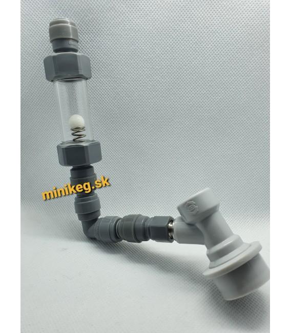 Zastavenie prietoku - automatický plnič minikegov jolly