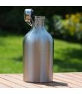 Pivný džbán z nerezovej ocele 2 L jednostenný