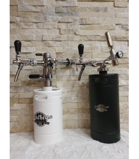 Minikeg filler, bottle filler