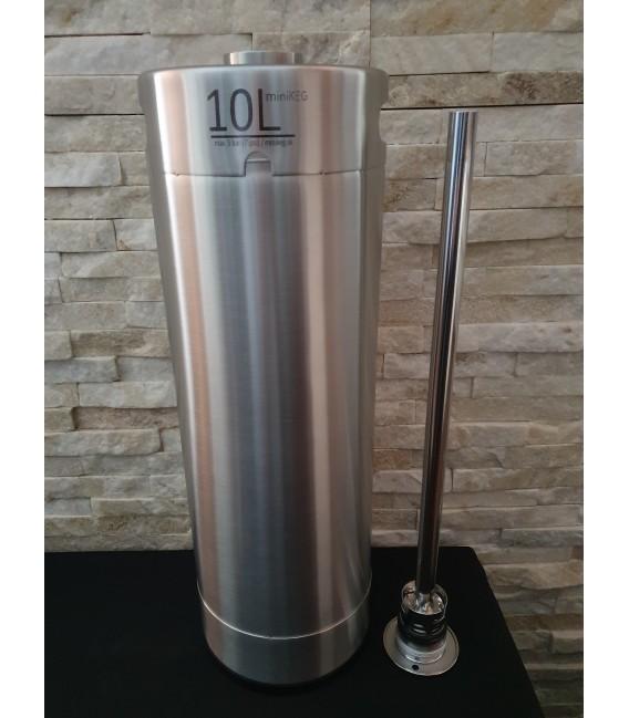 Komplet systém gaststream FLACH 10 L bottom s kompenzátorom