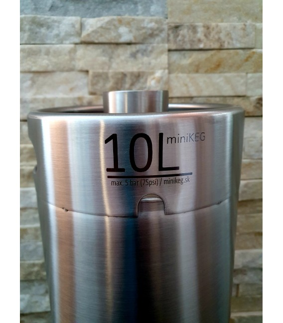 MiniKeg 10 L BAJONET bottom
