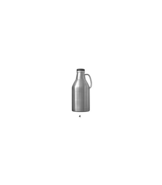 Pivný džbán z nerezovej ocele 2 L dvojstenný
