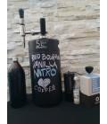Minikeg 5 L Dvojstenný čirny NITRO Stout komplet system