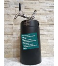 Minikeg 5L DOUBLE WALL black BEER complet system