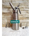 0,5 L minikeg  stainless steel cream wipper nitro cold brew ready