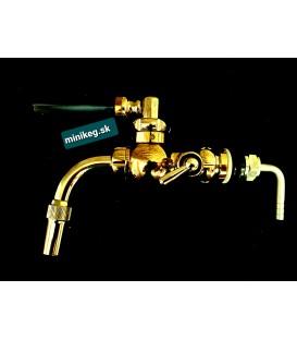 Minikeg gold vintage tap