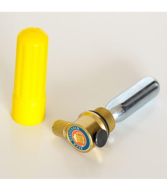Bombička 16 g potrevinárske CO2 so závitom ( balenie 5 ks )