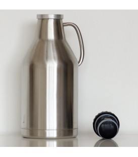 Growler steel  double wall 2 L